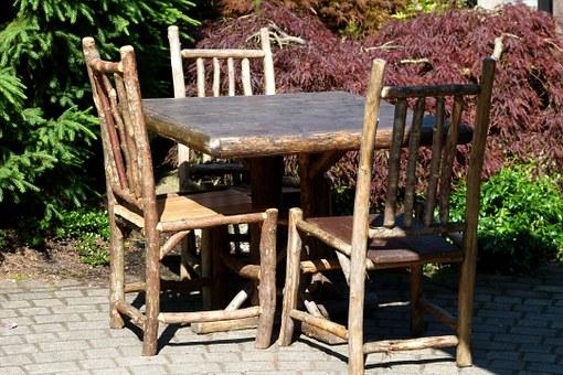 столове от клони