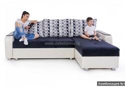 ъглов диван с функция сън